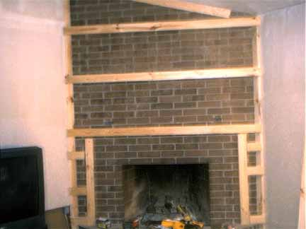 Dealing With An Old Brick Fireplace And Home Renovation